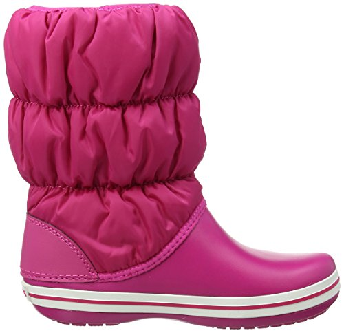 Crocs Winter Puff Boot Wom, Stivali da Neve Donna Rosa (Candy Pink/candy Pink)