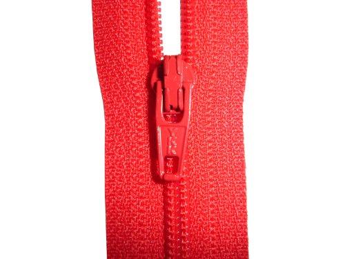 (Geschlossen Ende Reißverschluss–Rot–YKK-–-– Ideal für Kleider/Hosen/Röcke/Kissen und Kunst, und Craft–Größen: 4/5/6/7/8/9/10/12/14/16/18/20/22/24/26/28/30/32/34/91,4cm, Rot, 6 INCH (15CM))