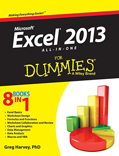 Microsoft Excel 2013 All In One For Dummies par GREG HARVEY