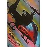 TONNERRE DE FEU Affiche de film - 70x100 cm. - 1983 - Roy Sheider, John Badham