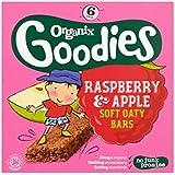 Organix Goodies Framboise Bio & Pomme Douce Barres De 6 X 30G Oaty