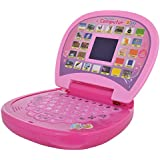 Fusine™ Educational Laptop / Computer With LED Screen For Fun Learning Experience (Pink)