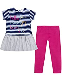 348db0359d3 Minikidz Infant Girls Tunic & Leggings Set (Ages 2 Up To 8 Years) Cotton