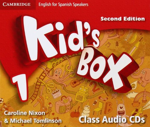 Kid's Box for Spanish Speakers Level 1 Class Audio CDs Second Edition - 9788483239629