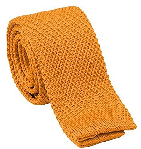 L&C®High Quality Men's Fashion Tie Knit Knitted Tie Slim Skinny