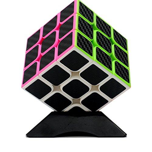 UWILD ® Nouveau autocollant de fibre de carbone de vitesse Version cube...