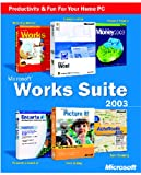 Produkt-Bild: Works Suite 2003 CD (Word, Money, AutoRoute, Encarta, Picture It, Works)
