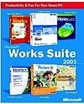 Works Suite 2003 CD (Word, Money, Aut...