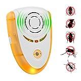 ultrasuoni Repeller Repeller elettronico repellente a repulsione elettromagnetica Dispositivo repellente ad insetti ultrasonici Insetto fisico per insetti per scarafaggi, roditori, mosche, zanzare, formiche, ragni, pulci, topi a ni