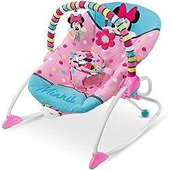 DISNEY Baby Evolutif Rose Minnie Transat