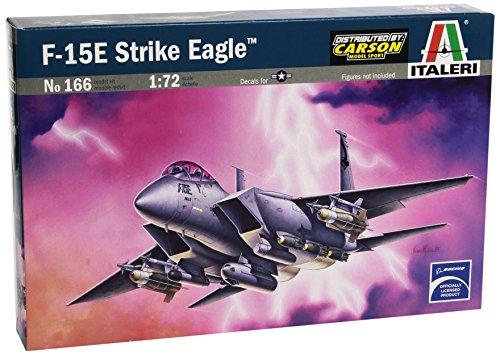 f6d0a91124945 Italeri 0166 - F-15 E Eagle Model Kit Scala 1:72