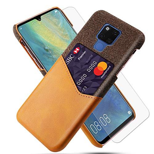 FugouSell Cover per Huawei Mate 20 X (5G) Custodia Ultra Sottile e Leggere, Slim Smart Case con Antiurto Antipolvere Funzione Compatibile con Huawei Mate 20 X (5G) (Arancia)