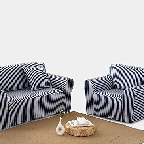 Sqinaa cotone,fodera per divano a righe protettore di animali domestici bambini divano letto cuscino per 1 pezzo morbido divano copre-d