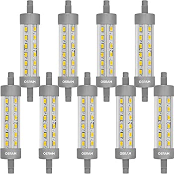 osram led star line r7s led tube r7s 9 w 75 w replacement clear warm white 2700 k pack of. Black Bedroom Furniture Sets. Home Design Ideas