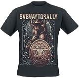 Photo de Subway To Sally Taurus Warrior T-Shirt Noir par Subway To Sally