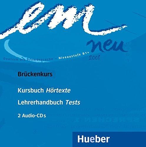 Em Neu Brukenkurs: Deutsch Als Fremdsprache Niveaustufe B1 by Michaela Perlmann-Balme (2005-02-10)