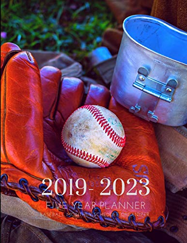 2019-2023 Five Year Planner Baseball Game Goals Monthly Schedule Organizer: 60 Months Calendar; Agenda Appointment Diary Journal With Address Book, ... Notes, Julian Dates & Inspirational Quotes