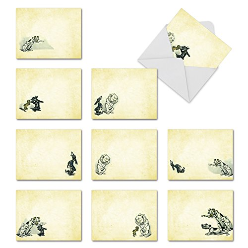 Heulender Hounds Thank You Witz Karte 10 Assorted Blank Note Cards (M3978) 10 Assorted Blank Note Cards (M3978)