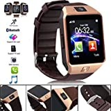 Easypro™ Bluetooth Smart Watch DZ09 Phone With Camera And Sim Card & SD Card Support With Apps Like Facebook And WhatsApp Touch Screen Multilanguage Android/IOS Mobile For Karbonn K9 Smart 4G