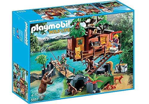 Playmobil Wild Life Adventure Tree House Juego construcción