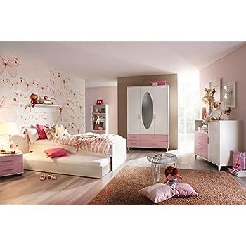 Jugendzimmer Steffi Weiss/Lila 6 tlg.: Amazon.de: Küche