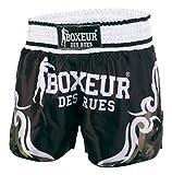 Boxeur Des Rues Fight Activewear Shorts Kick-Thai con Simboli Tribali, Camouflage, M