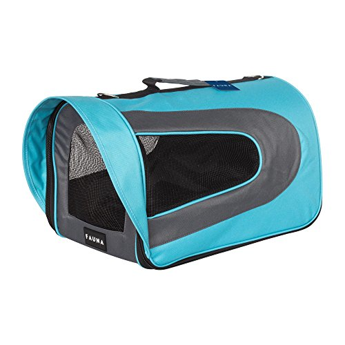 Unbekannt Fauna CARRIER-1014 Travel Carrier Hund/Katze/Puppy-Leichte Bequeme Flugzeug Pet Tasche faltbar Box, Blue -