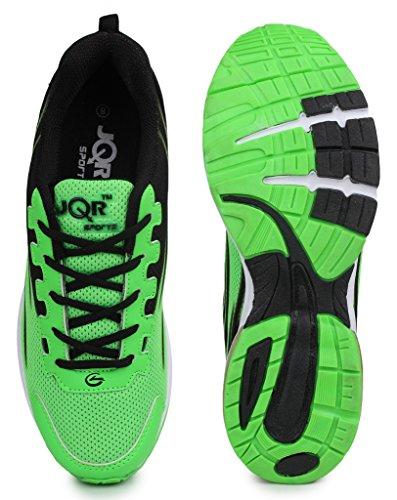 e1450a8448837 JQR Tube-2 Green Black Sports Shoes