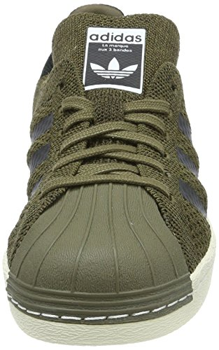Unisexe Vert Primeknit Adidas Chaussures Athletic 80s Superstar Low qaHxFO