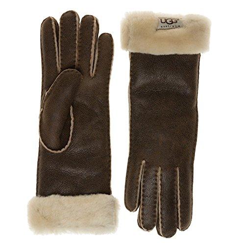 Ugg® Australia Turn Cuff Damen Handschuhe Braun