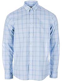 Henri Lloyd Men's Queensbury Regular Shirt In Horizon Blue