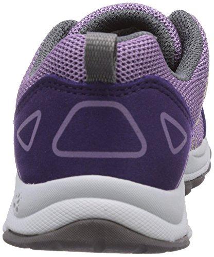 Jack Wolfskin FAIRPORT LOW K Unisex-Kinder Sneakers Violett (prune 2031)