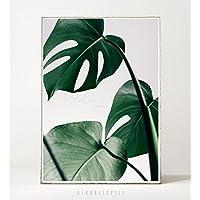 Kunstdruck / Poster MONSTERA -ungerahmt- Blatt, tropisch, Pflanze