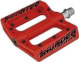 Thunder 183 - Pedali ultra leggeri per MTB / BMX, Rot