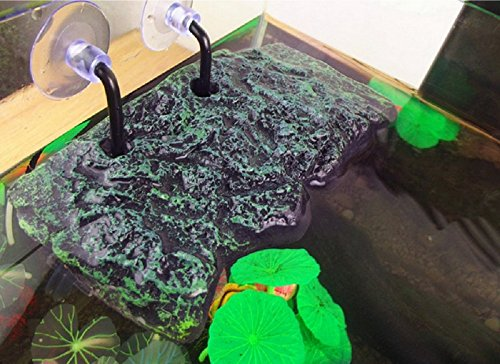 BigTron Turtle Platform, Floating Turtle Pier Rectangular Terrapin Dock PU Foam Aquarium Float Decoration Bask Terrace… 2