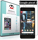 Mobonic  2.5D 0.3mm Curved 9H Flexible   Gorilla Glass   Scratch Shock Proof   Anti Explosion   Tempered Glass  Screen Protector Shield For Google pixcel 2 { 0.3mm 2.5D Curved Ultra HD Clear Proper Camera and Sensor Cut }
