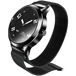 Lenovo Watch X Reloj Inteligente 80ATM Luminoso Puntero a Prueba de Movimiento de Movimiento del Sueño Monitorización de la Frecuencia Cardíaca Caloría Calorías Alarma Pedómetro Inteligente