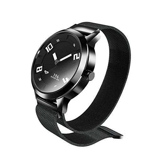 Lenovo Orologio x Smart Watch 80ATM Impermeabile Luminoso puntatore Fitness Tracker Sonno monitoraggio della frequenza cardiaca Intelligente pedometro Calorie chiamate per ricordare Vibration Alarm