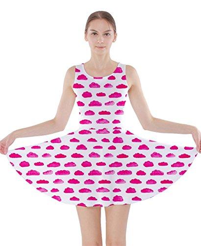 CowCow Damen Kleid Rosa Pink Pink