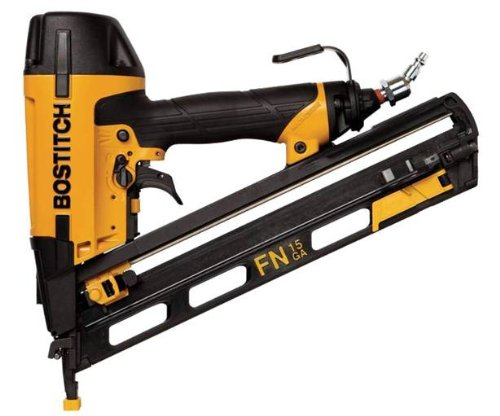 15 Gauge Brad (BOSTITCH N62FNK-2 15-Gauge 1 1/4-Inch to 2-1/2-Inch Angled Finish Nailer by BOSTITCH)