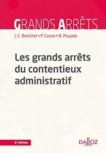 Les grands arrts du contentieux administratif - 6e d.