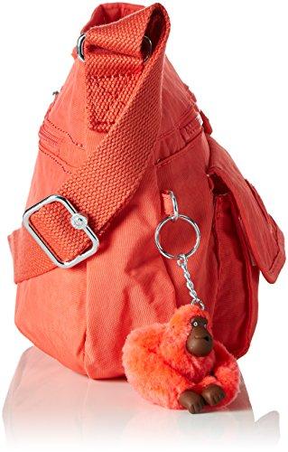 Kipling - Syro, Borsa A Tracolla da donna Arancione (Galaxy Orange)