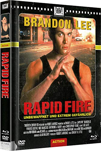 Rapid Fire - Mediabook - Limited Edition, Cover D - Retro [Blu-ray]