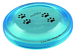 Trixie - Frisbee Dog Activity Disc pour chien résistant aux morsures ø 19 cm - Coloris aléatoire