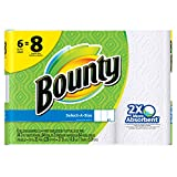 Bounty Select a Size Mega Paper Towels, 6 Pack