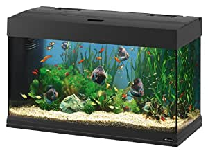 Ferplast Dubai 80 Aquarium, 81 x 36 x 51 cm, Black