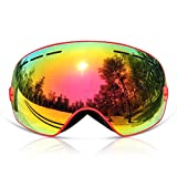 Best Uvex Goggles For Women - GANZTON Ski Goggles Skiing Goggles Snowboard goggles Double Review