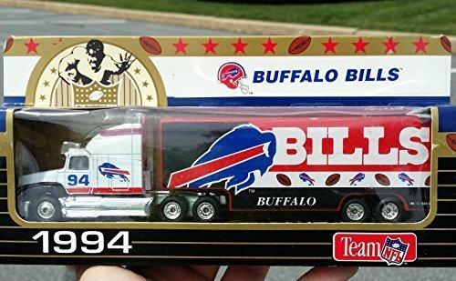 matchbox-1994-buffalo-bills-nfl-football-tractor-trailer-truck-in-187-scale-diecast-by-matchbox