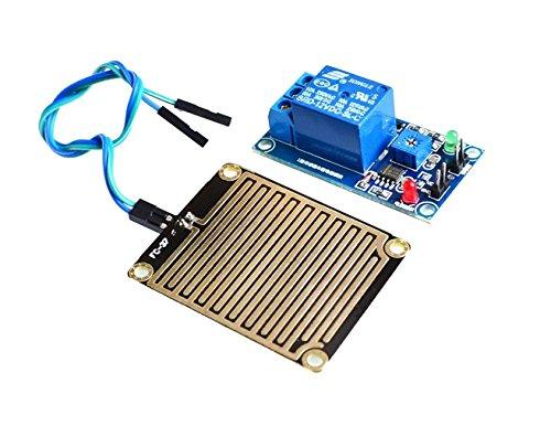 haoyishang DC 12V Regen Wasser Sensor Modul + Relais Modul für Arduino Robot Kit -