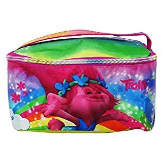 Trolls Happiness Make Up Bag Bolsos Neceser Vanity Estuche Ninos